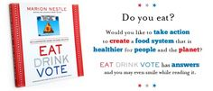 Vote With Your Fork! Eat Drink Vote #BookReview