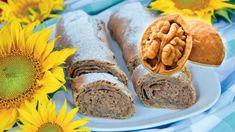 "Extra banánové dorty: Tentokrát ochutnáme legendárního ""kubánce"" – Hobbymanie.tv Pretzel Bites, Fresh Rolls, Sausage, Bread, Cake, Ethnic Recipes, Food, Tv, Sausages"
