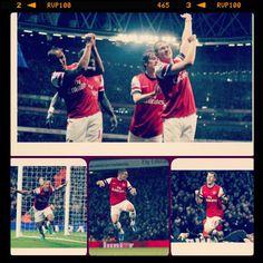Arsenal vs Wigan , young gunners Celebration #Arsenal #coyg #Gunners