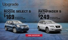 #GoRogue for less now with our Upgrade Program at Kline Nissan.  Click to learn more and stop in for a #testdrive!