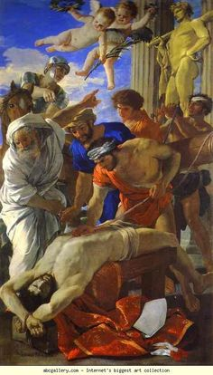 Nicolas Poussin. The Martyrdom of St. Erasmus. 1628. Oil on canvas. Musei Vaticani, Vatican