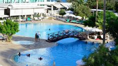 On one of the most stunning beach front locations with full sea views of the Mediterranean in Ayia Napa Cyprus stands the luxury Grecian Bay hotel with fine restaurants and bars. Stuff To Do, Things To Do, Ayia Napa, Good Morning Everyone, Wish You Are Here, Cyprus, Relax, Island, Activities