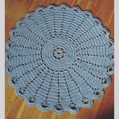 """""""Maton kudoin    #virkkausta #juhannusruusu #handmade #crochet #crochetlove #diy #syksytouhuja"""""""