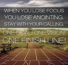 God is not obligated to bless what He didn't call us (anoint us) to do in the first place... stay within His will and aim for the finish line!