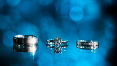 Trio His and Her Diamond Wedding White Gold Bridal Band Engagement Ring Set Wedding Ring Pictures, Engagement Pictures, Wedding Rings, Band Engagement Ring, Engagement Ring Settings, Wedding Ring Photography, Candid Photography, Engagement Photography, Bridal Bands
