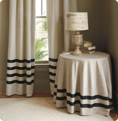 I've toyed with this idea for curtains before and may come back to it for our guest room.