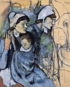 Pablo Picasso, Femmes à la fontaine
