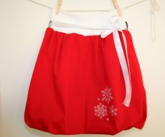 A personal favourite from my Etsy shop https://www.etsy.com/listing/482831646/red-bubble-skirt-for-women-with