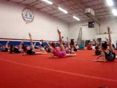 Conditioning/Flexibility | Swing Big! Gymnastics Blog Choreographed Conditioning