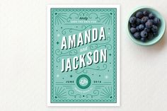 Deco Date Save The Date Cards