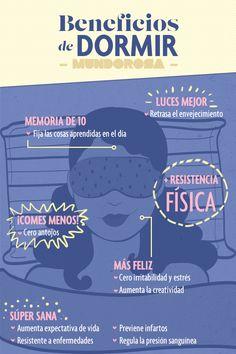 Los beneficios de dormir. Foto: Mundo Rosa