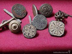 antiguos botones y gemelos - Foto 1