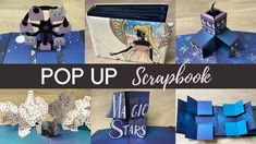Pop Up Scrapbook 🌸 Moon Flower | Best Popup Ideas | Interactive Album 3D Pages - YouTube Photo Album Scrapbooking, Scrapbook Layouts, Pop Up Cards, Popup, Diy Flowers, Mini Albums, Diy Gifts, Dyi, Paper Crafts