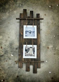 Read on to find 10 effortless DIY picture frame ideas . Pallet Picture Frames, Pallet Pictures, Pallet Frames, Rustic Pictures, Picture On Wood, Photo Frames Diy, Photo Frame Ideas, Diy Picture Frames On The Wall, Picture Walls