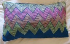 Hand-woven cushion from Mizoram, North East India