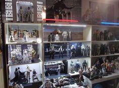 Star Wars Hot Toys Display