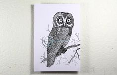 Items similar to Coloring postcard. Diy postcard on Etsy Diy Postcard, Postcard Size, Card Sizes, Adult Coloring, Psychedelic, Vector Art, Cool Art, Owl, Arts And Crafts