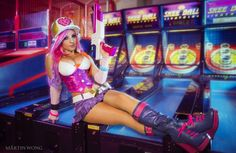 I'm bringing @vensyprops beautiful Arcade Miss Fortune costume to New York Comic Con! C U AT BOOTH 2164!