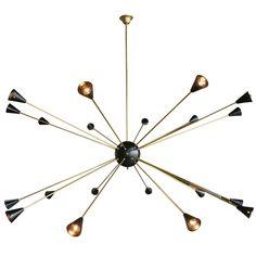 Lightings : 38 Modern Pendant Light Design Ideas To Inspire You - Oversized Italian Sputnik Light pendant kitchen light fixtures, modern pendants, Pendant light ideas, pendant light fixtures for kitchen island, cool lighting fixtur