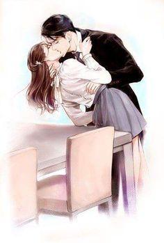 jim moriarty x molly hooper jim moriarty fanart molly hooper molliarty sherlock kiss lousie brealey andrew scott moffat season 5 couple Cute Couple Drawings, Cute Couple Art, Anime Couples Drawings, Anime Couples Manga, Couple Manga, Anime Couple Kiss, Anime Kiss, Anime Art, Anime Couples Cuddling