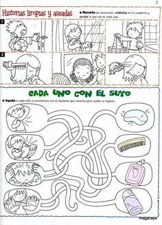 Resultado de imagen para habitos de higiene para niños de primaria