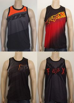 0342815b23812b Fox Racing Mens Sleeveless Tank Jersey Singlet Top size S XL XXL NWOT in  Clothing