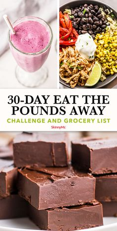 This eat the pounds away challenge will provide you with healthy and delicious options that will nourish your body and enable you to lose weight! Clean Eating Salads, Clean Eating Chicken, Clean Eating Recipes For Dinner, Healthy Eating, Stay Healthy, Healthy Cooking, Healthy Weight, Diet Recipes, Cooking Recipes