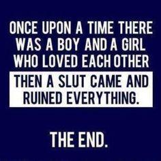 Stupid sluts