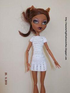 Ropa para muñecos - Ropa Monster High: v74 - hecho a mano por mamimonster en DaWanda http://monsterhighfashionclothes.blogspot.com http://mymonsterhighboutique.dawanda.com