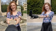 A fake arm selfie stick only makes you look less sad in photographs http://gizmo.do/diuKG2m