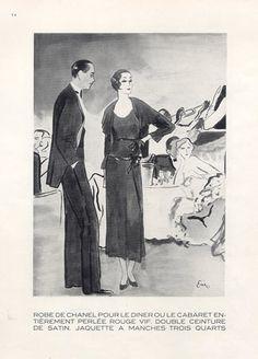 Chanel 1929 Dinner Jurk Satijn Belt Eric