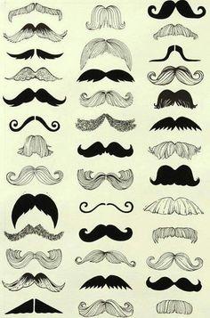 Moustaches tres a la mode :)