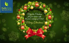 May the fragrance of joy, blossoms of hope & glow of prosperity always be with you! Happy Christmas & Prosperous New Year!