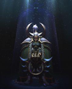 ArtStation - Warcraft 3 Warden , Sergey Ponomarenko