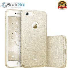 IPhone 7 Case, ESR Luxury Bling Bling Glitter Sparkle Designer Case Slim Fit Shockproof Shining Fashion Style for Apple iPhone 7 (Champagne Gold). Slim and light weight design will never make your iPhone looks bulky. Iphone 7 Cases, Bling Bling, Designer, Apple Iphone, Sparkle, Glitter, Slim, Make It Yourself, Ebay