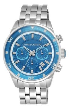 Men's Vince Camuto Chronograph Bracelet Watch