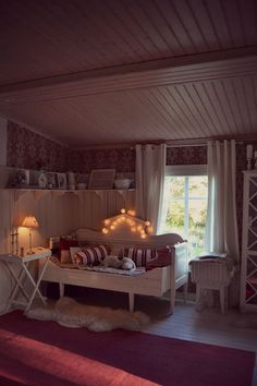Puusohva Shabby Chic Uk, Scandinavian Cottage, Build My Own House, Dream House Interior, Swedish House, Cottage Interiors, Retro Home, Small Living, Beautiful Homes