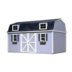 Berkley 10 Ft. X 18 Ft. Wood Storage Building Kit With Floor