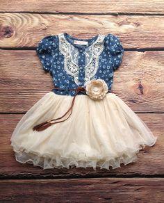 c511ac153f2 Denim Western Country Dress - Ava Madison Boutique. Denim Western Country  Dress - Ava Madison Boutique Girls Denim Dress