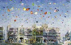 Basant (Kite festival in Spring) Lahore, Pakistan. This would be so cool to see in person!