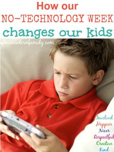 No technology week for kids