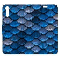 Funcase Etui Flexi Book Sony Xperia XZ - Blue Tiles | SONY \ Xperia XZ
