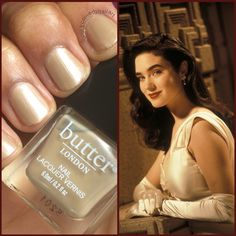 Butter London Looker is the nail polish equivalent of Jenny from The Rocketeer