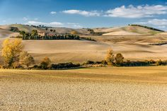 Crete senesi in autumn by blazblue78