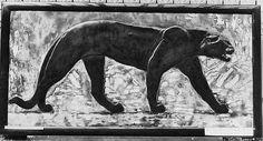Panel Designer: Jean Dunand  (French (born Switzerland), Lancy 1877–1942 Paris) Designer: Paul Jouve (French, Bourron-Marlotte 1880–1973 Paris) Date: ca. 1924 Culture: French Medium: Lacquered wood, eggshell