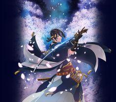 Abre la web oficial del Anime Touken Ranbu con su primera imagen promocional.