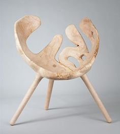 """Take wood as it is and you get a chair. That's the idea behind """"Skog"""" by Stian Korntved Ruud"""