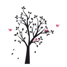 Tree Birds nest Graphics SVG Dxf EPS Png Cdr Ai Pdf Vector Art Clipart instant download Digital Cut Print File Cricut Silhouette shirt by VectorartDesigns on Etsy