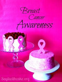 Raspberry Mousse Cake for Breast Cancer Awareness