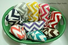 Great for any bride giving a special gift to her bridesmaids. Chevron Bridesmaid Clutches Set of 5 Choose your by Lighthousebags